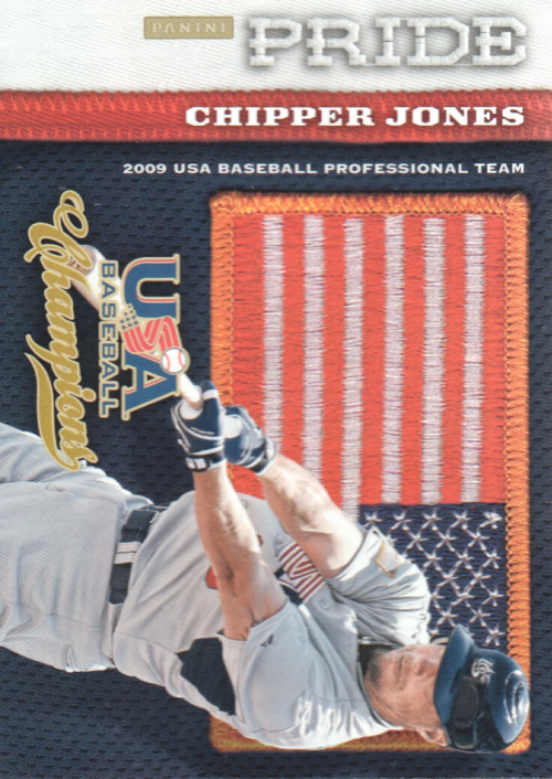 2013 USA Baseball Champions Pride #19 Chipper Jones