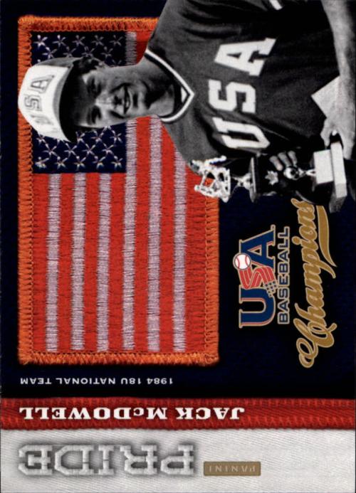 2013 USA Baseball Champions Pride #20 Jack McDowell
