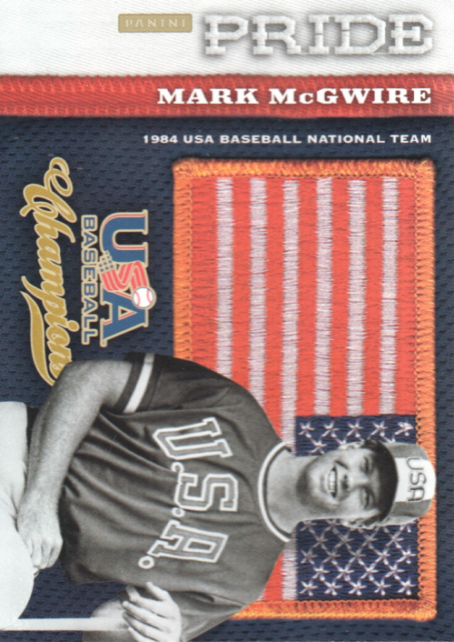 2013 USA Baseball Champions Pride #21 Mark McGwire