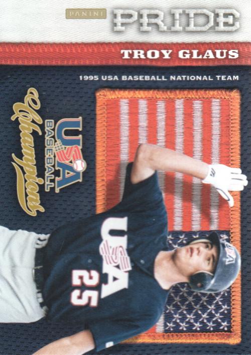 2013 USA Baseball Champions Pride #24 Troy Glaus