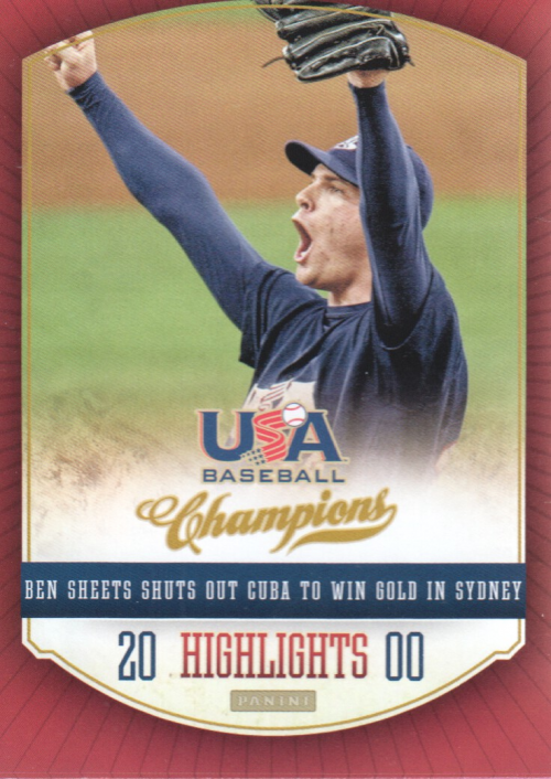 2013 USA Baseball Champions Highlights #5 Ben Sheets