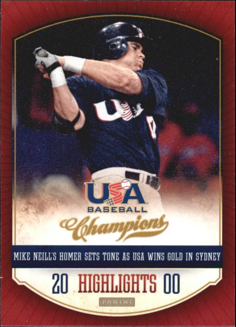 2013 USA Baseball Champions Highlights #6 Mike Neill