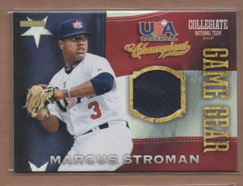 2013 USA Baseball Champions Game Gear Jerseys #9 Marcus Stroman