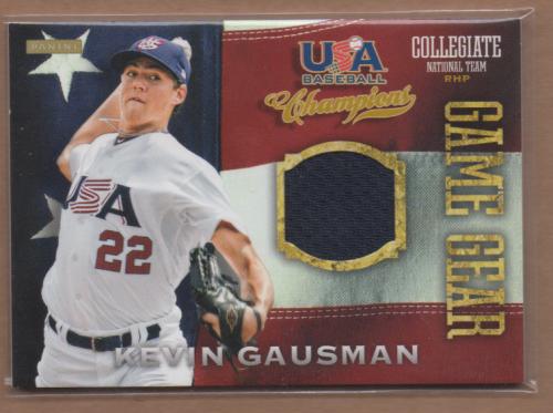 2013 USA Baseball Champions Game Gear Jerseys #11 Kevin Gausman