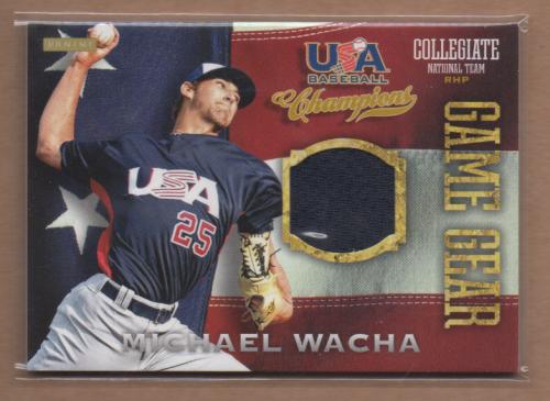 2013 USA Baseball Champions Game Gear Jerseys #14 Michael Wacha