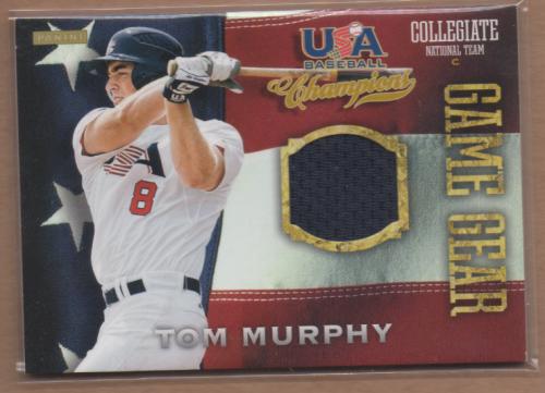 2013 USA Baseball Champions Game Gear Jerseys #21 Tom Murphy