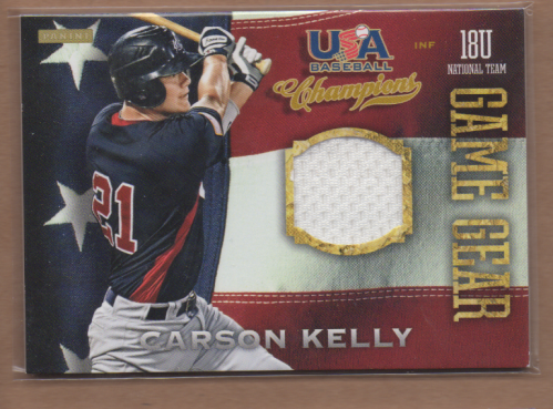 2013 USA Baseball Champions Game Gear Jerseys #23 Carson Kelly