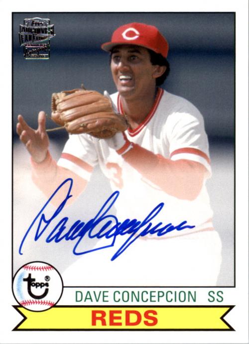 2013 Topps Archives Fan Favorites Autographs #DC Dave Concepcion EXCH