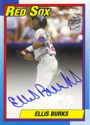 2013 Topps Archives Fan Favorites Autographs #EB Ellis Burks