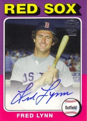 2013 Topps Archives Fan Favorites Autographs #FL Fred Lynn