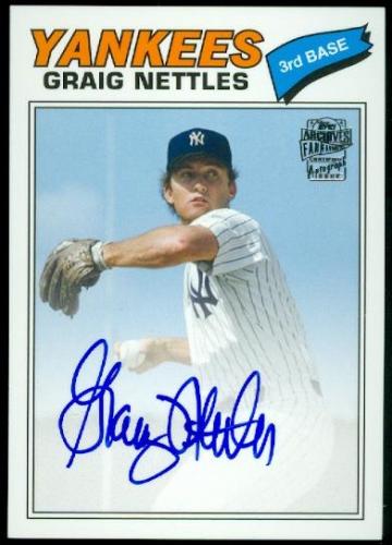 2013 Topps Archives Fan Favorites Autographs #GN Graig Nettles