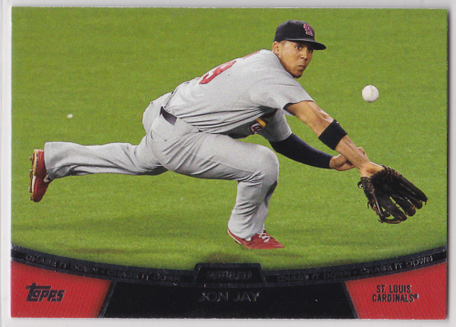 2013 Topps Chase It Down #CD10 Jon Jay