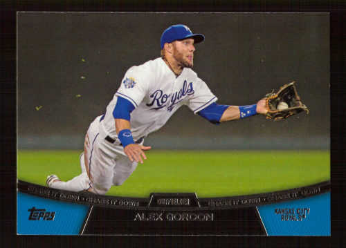 2013 Topps Chase It Down #CD11 Alex Gordon
