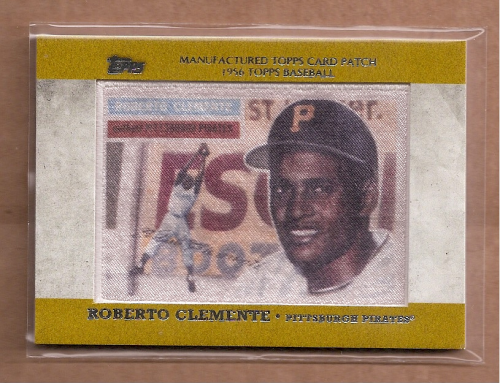 2013 Topps Manufactured Patch #MCP9 Roberto Clemente