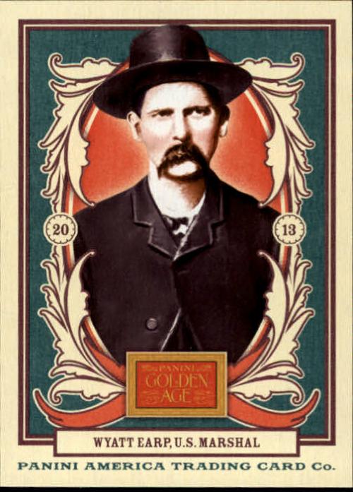 2013 Panini Golden Age #4 Wyatt Earp