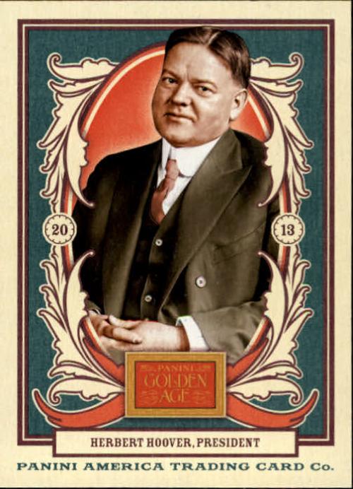 2013 Panini Golden Age #35 Herbert Hoover