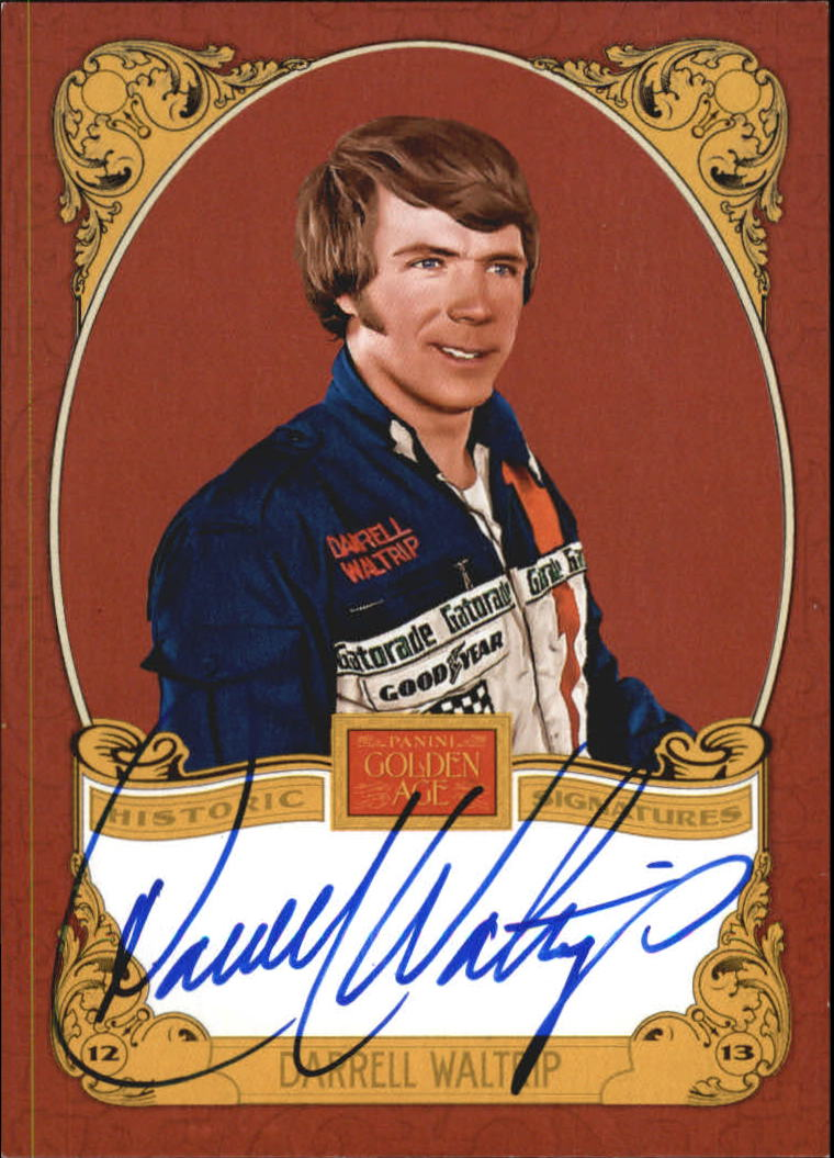2013 Panini Golden Age Historic Signatures #DW Darrell Waltrip