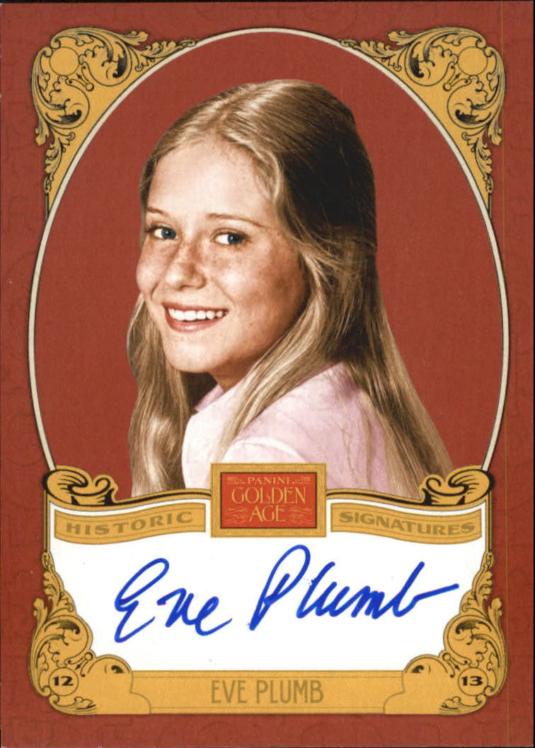 2013 Panini Golden Age Historic Signatures #EP Eve Plumb
