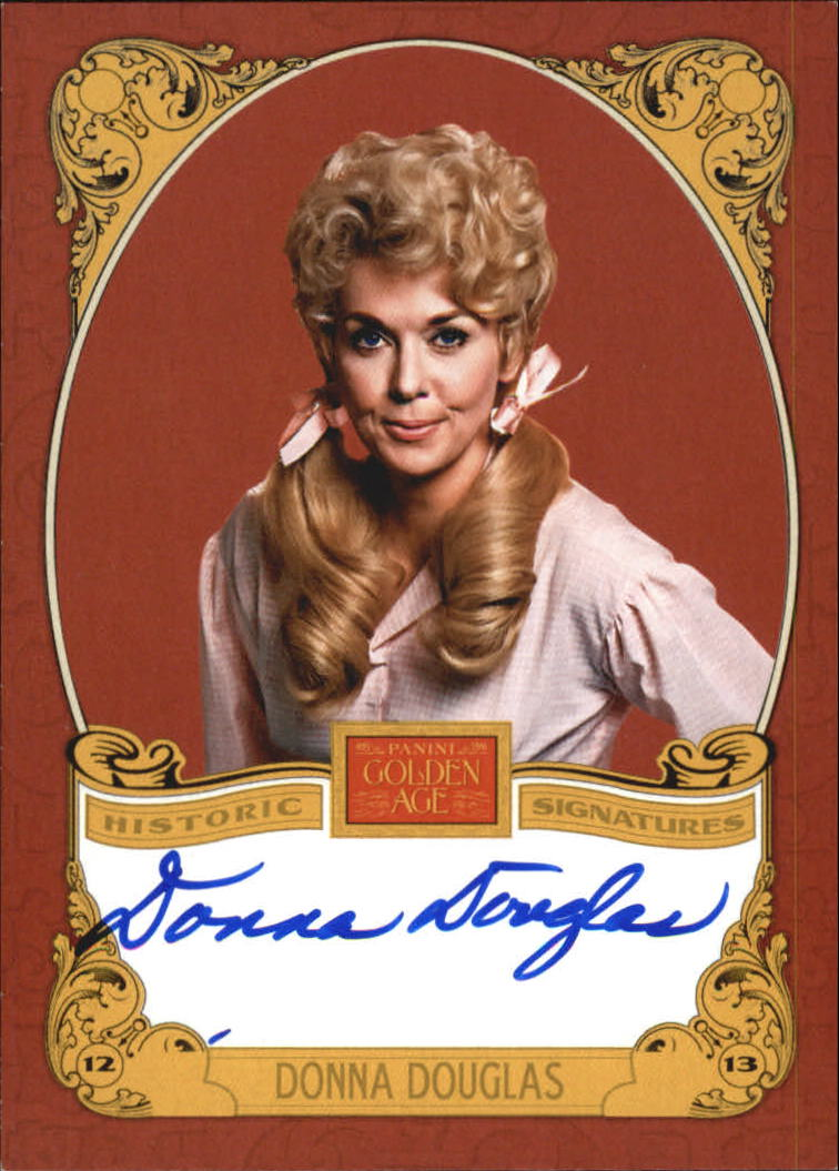 2013 Panini Golden Age Historic Signatures #DD Donna Douglas