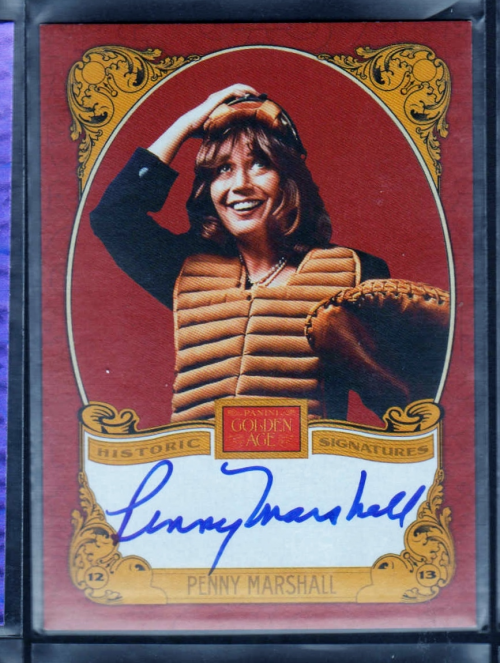 2013 Panini Golden Age Historic Signatures #PM Penny Marshall