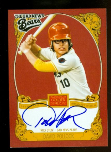 2013 Panini Golden Age Historic Signatures #DP David Pollock