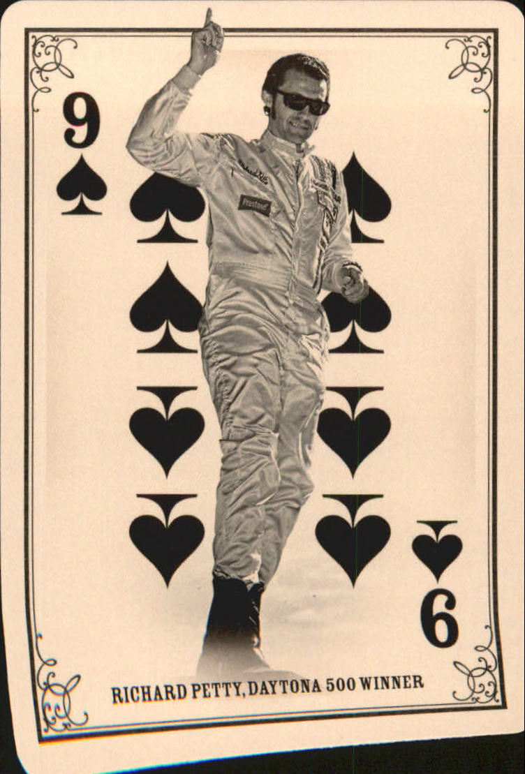 2013 Panini Golden Age Playing Cards #32 Richard Petty back image
