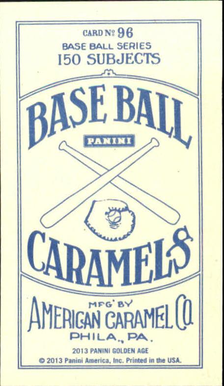 2013 Panini Golden Age Mini American Caramel Blue Back #96 Bill Freehan back image