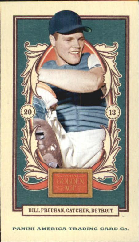 2013 Panini Golden Age Mini American Caramel Blue Back #96 Bill Freehan