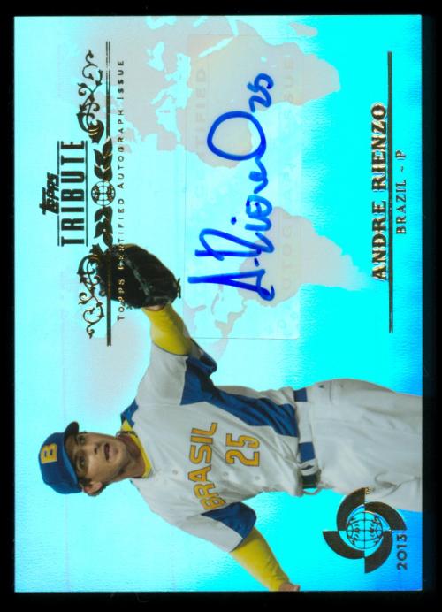 2013 Topps Tribute WBC Autographs #AR Andre Rienzo