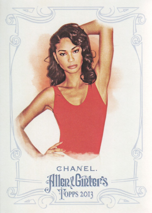 2013 Topps Allen and Ginter #6 Chanel Iman