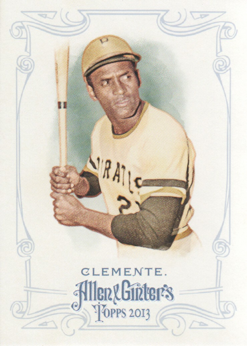 2013 Topps Allen and Ginter #82 Roberto Clemente
