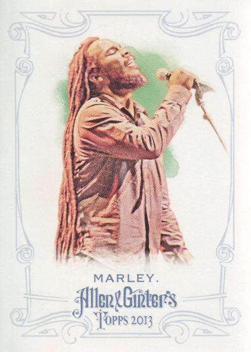 2013 Topps Allen and Ginter #112 Ziggy Marley
