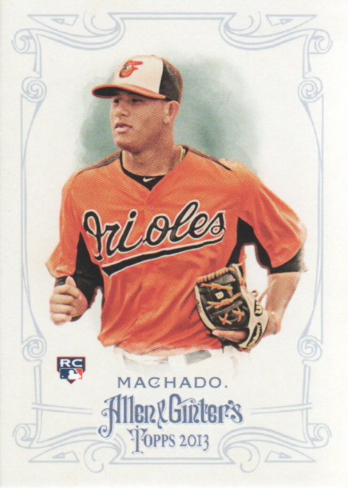 2013 Topps Allen and Ginter #120 Manny Machado RC