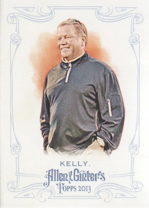 2013 Topps Allen and Ginter #131 Brian Kelly