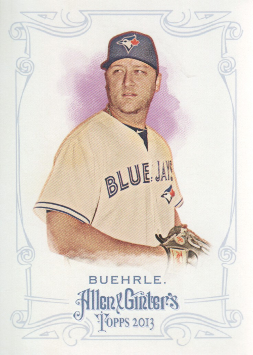 2013 Topps Allen and Ginter #245 Mark Buehrle