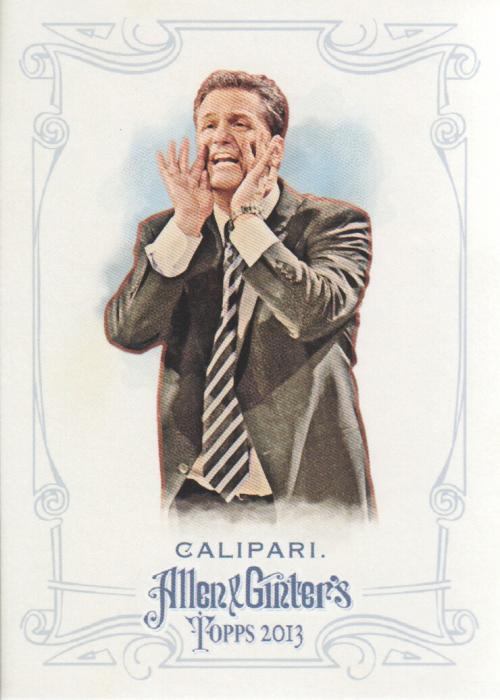 2013 Topps Allen and Ginter #250 John Calipari