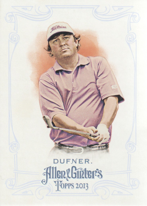 2013 Topps Allen and Ginter #349 Jason Dufner SP