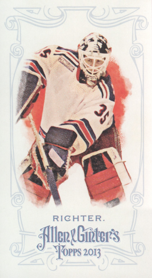 2013 Topps Allen and Ginter Mini #104 Mike Richter