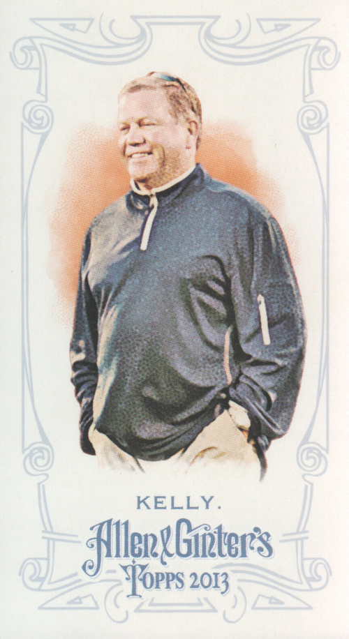 2013 Topps Allen and Ginter Mini #131 Brian Kelly
