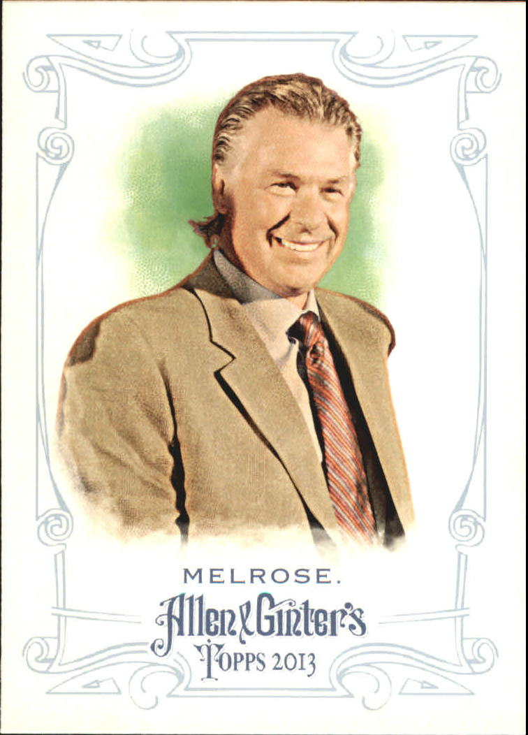 2013 Topps Allen and Ginter Mini #212 Barry Melrose