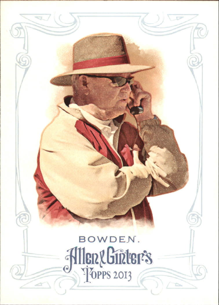 2013 Topps Allen and Ginter Mini #255 Bobby Bowden
