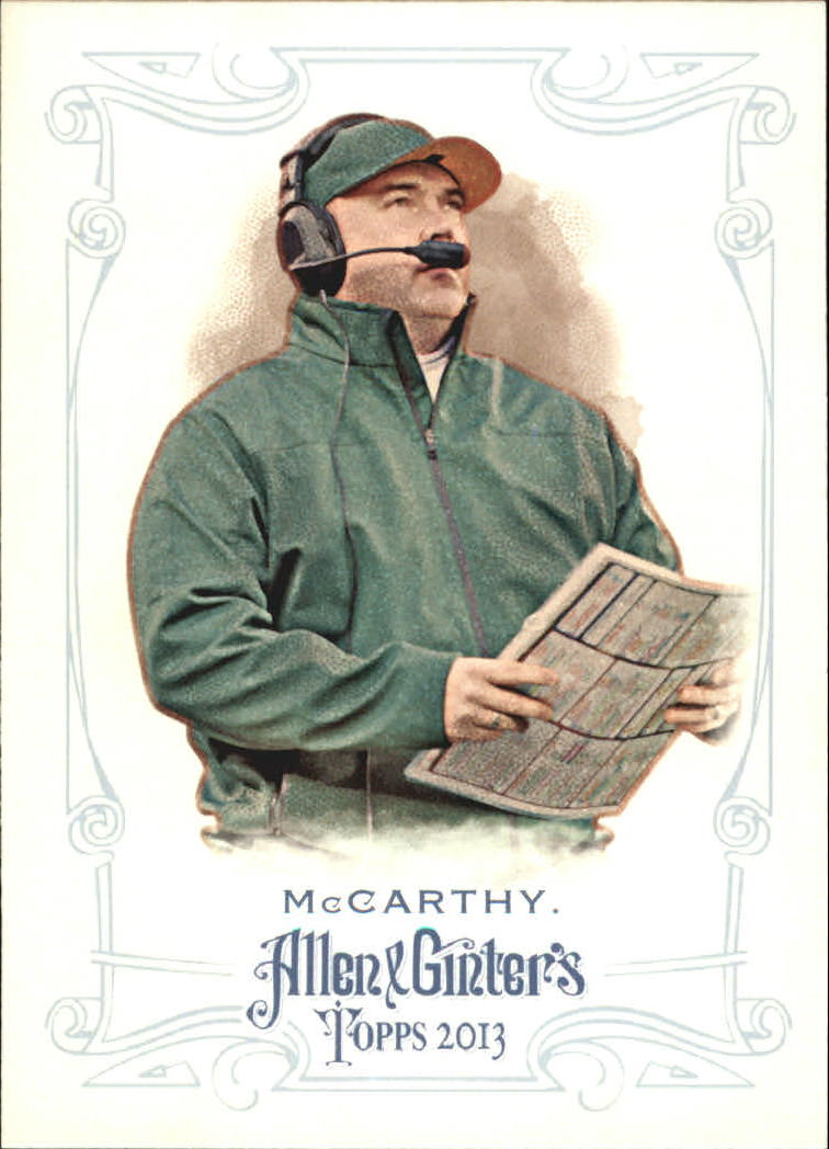 2013 Topps Allen and Ginter Mini #278 Mike McCarthy