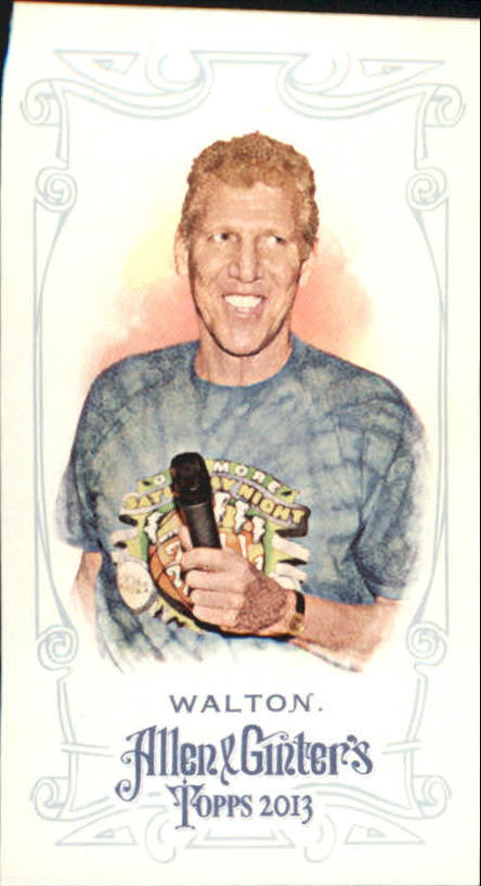 2013 Topps Allen and Ginter Mini A and G Back #100 Bill Walton