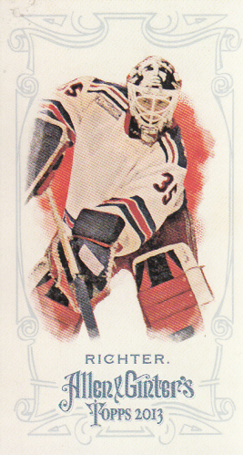 2013 Topps Allen and Ginter Mini A and G Back #104 Mike Richter