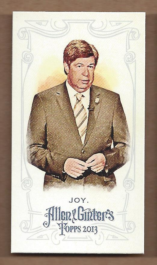 2013 Topps Allen and Ginter Mini A and G Back #184 Mike Joy