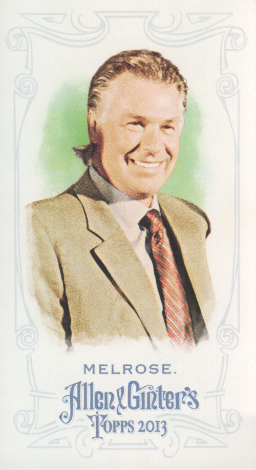 2013 Topps Allen and Ginter Mini A and G Back #212 Barry Melrose