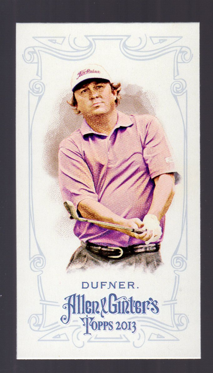 2013 Topps Allen and Ginter Mini A and G Back #243 Jason Dufner