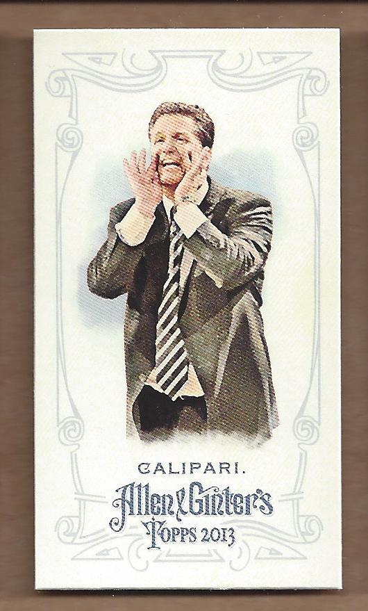 2013 Topps Allen and Ginter Mini A and G Back #250 John Calipari