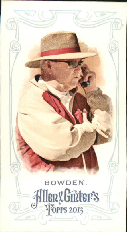 2013 Topps Allen and Ginter Mini A and G Back #255 Bobby Bowden