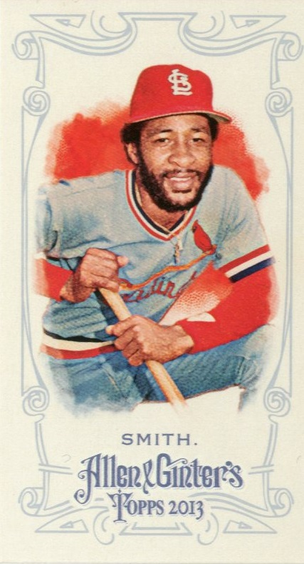 2013 Topps Allen and Ginter Mini A and G Back #341 Ozzie Smith